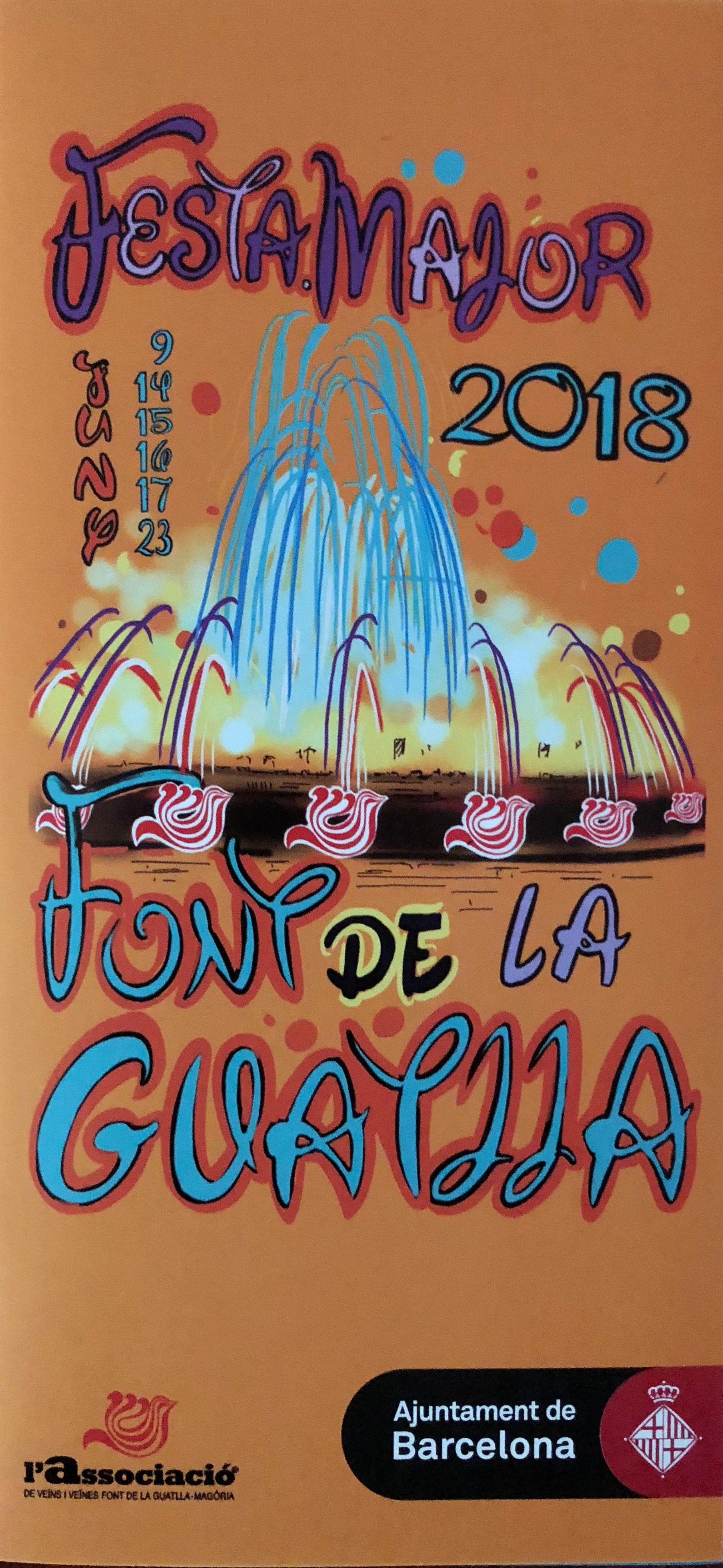 FESTA MAJOR DEL BARRI DE LA FONT DE LA GUATLLA-MAGÒRIA.