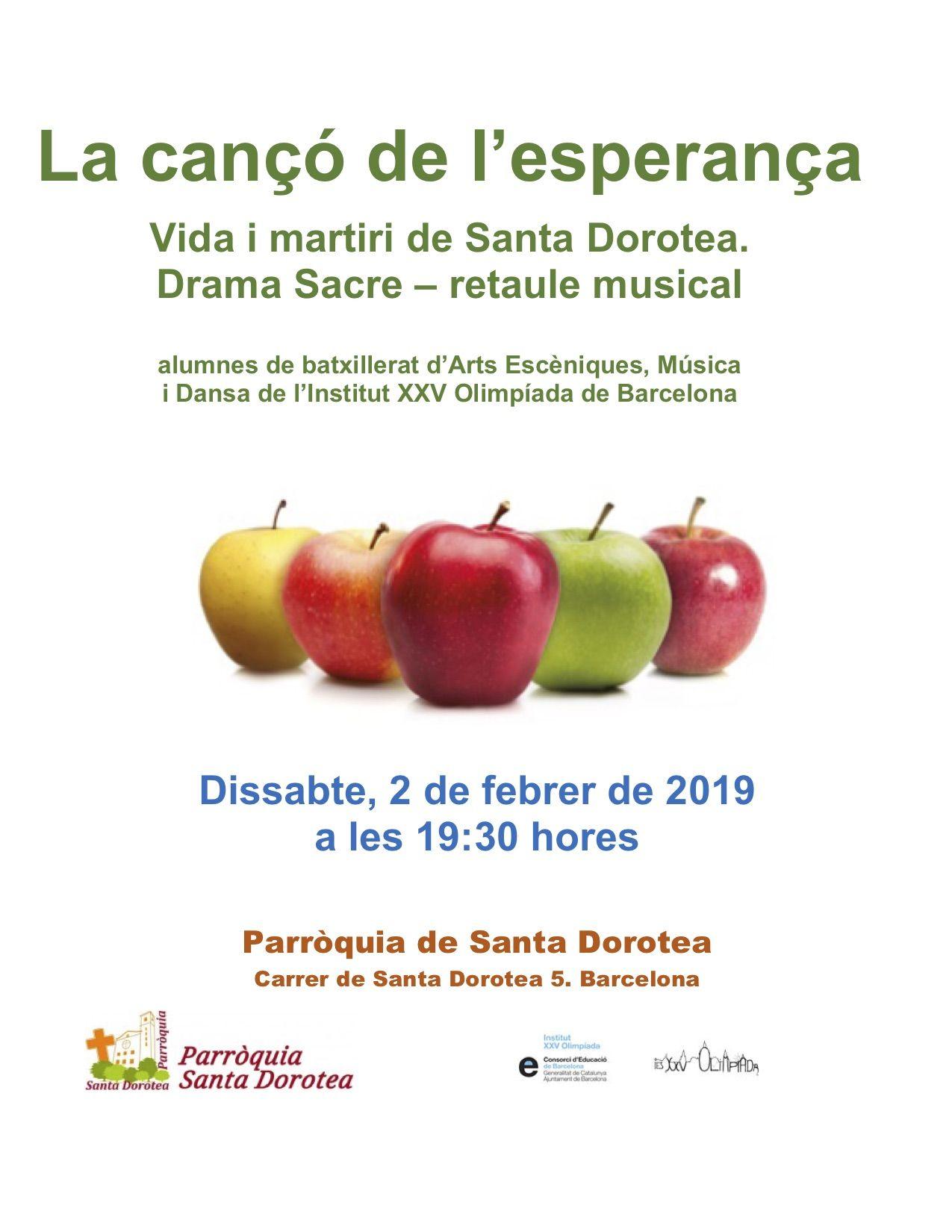 CARTELL MUSICAL STA DOROTEA 02_02_2019